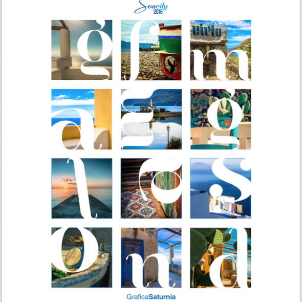 Calendario Seacily 2016 - GraficaSaturnia - Siracusa