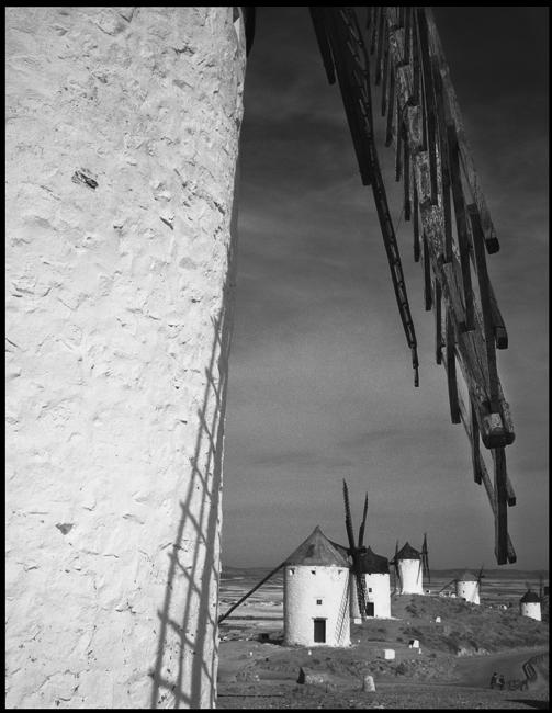 campo de criptana  mulini a vento